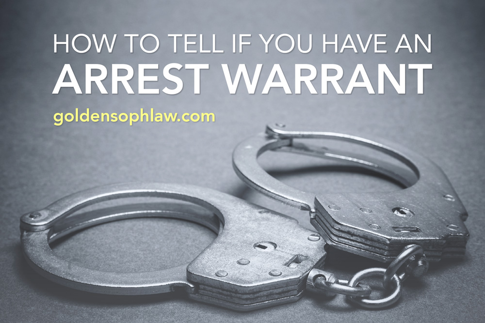 How to Tell if You Have an Arrest Warrant