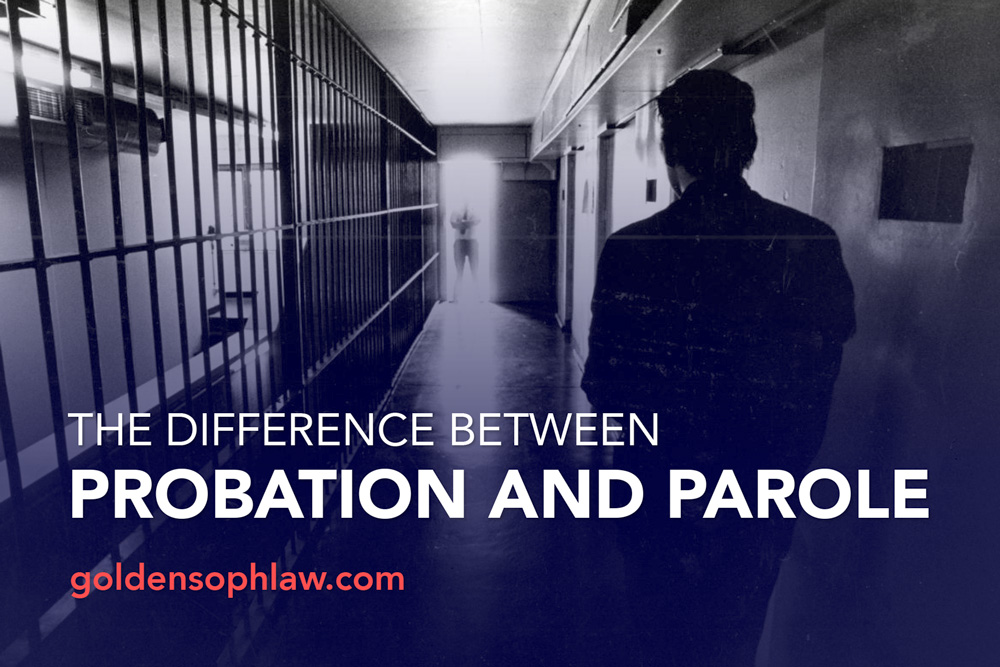 The difference between Probation and Parole