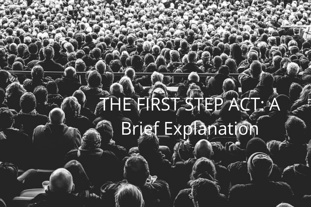 THE FIRST STEP ACT: A Brief Explanation